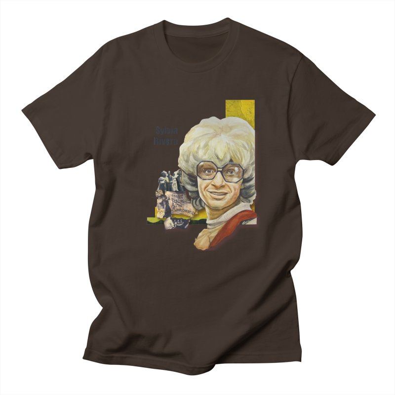 Silvia Rivera Men's Regular T-Shirt by Afro Triangle's