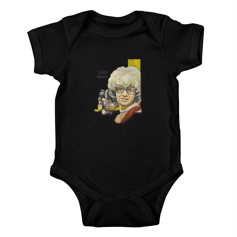 Silvia Rivera Kids Baby Bodysuit by Afro Triangle's