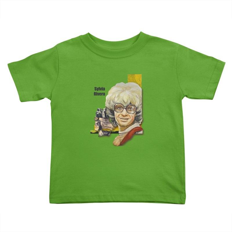 Silvia Rivera Kids Toddler T-Shirt by Afro Triangle's