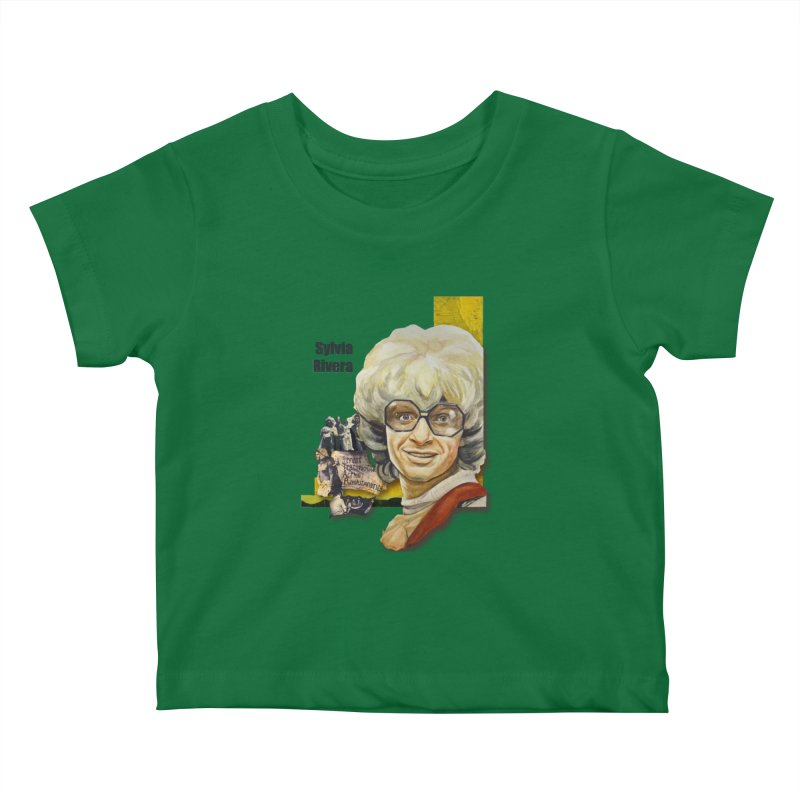 Silvia Rivera Kids Baby T-Shirt by Afro Triangle's