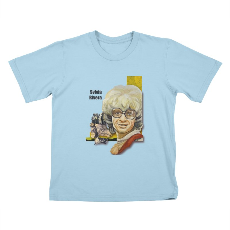 Silvia Rivera Kids T-Shirt by Afro Triangle's