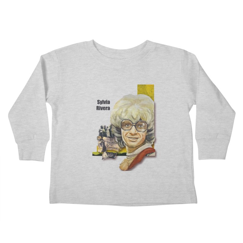 Silvia Rivera Kids Toddler Longsleeve T-Shirt by Afro Triangle's