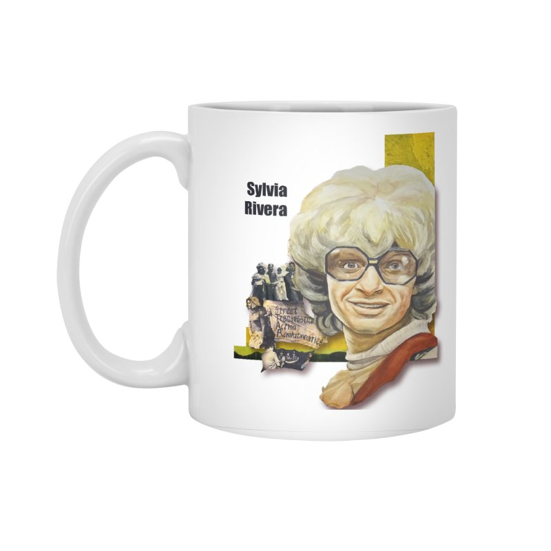 Silvia Rivera Accessories Standard Mug by Afro Triangle's