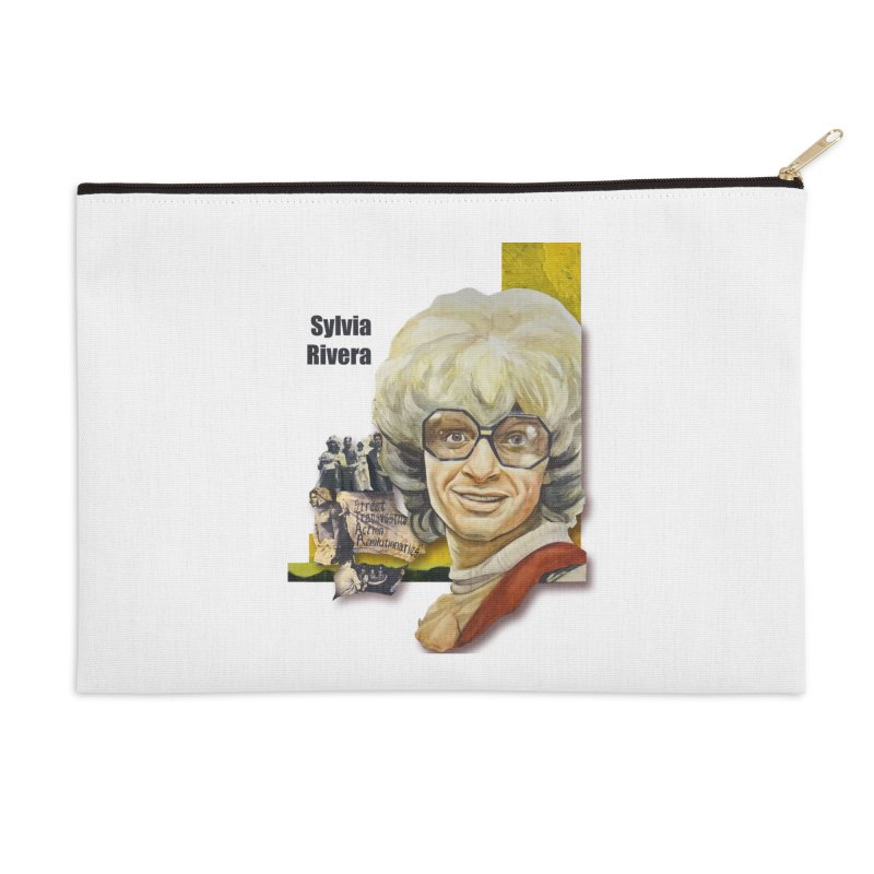 Silvia Rivera Accessories Zip Pouch by Afro Triangle's