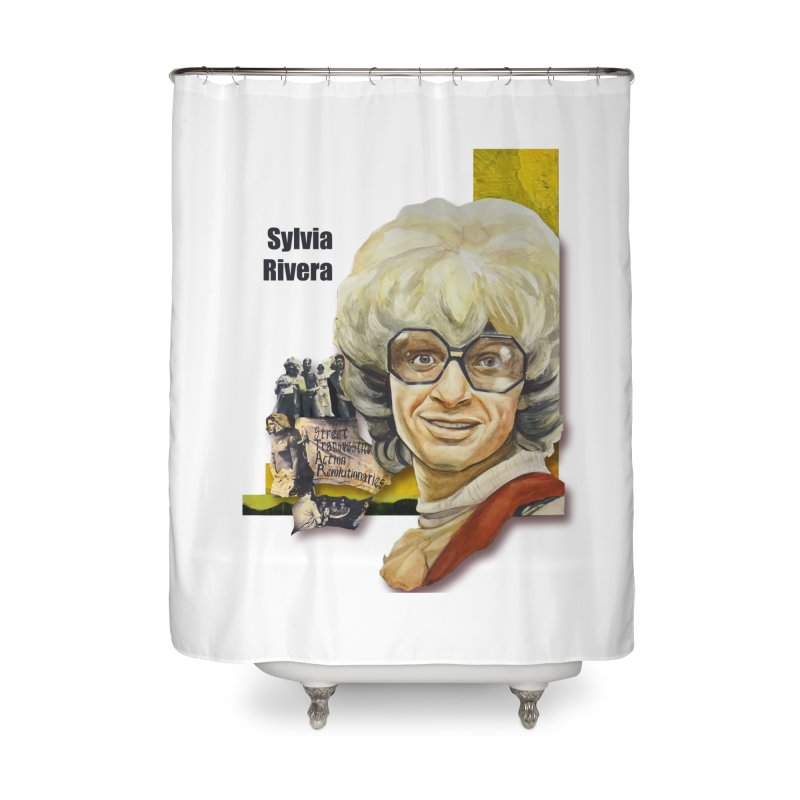 Silvia Rivera Home Shower Curtain by Afro Triangle's