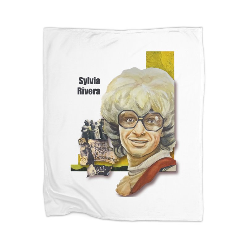 Silvia Rivera Home Blanket by Afro Triangle's