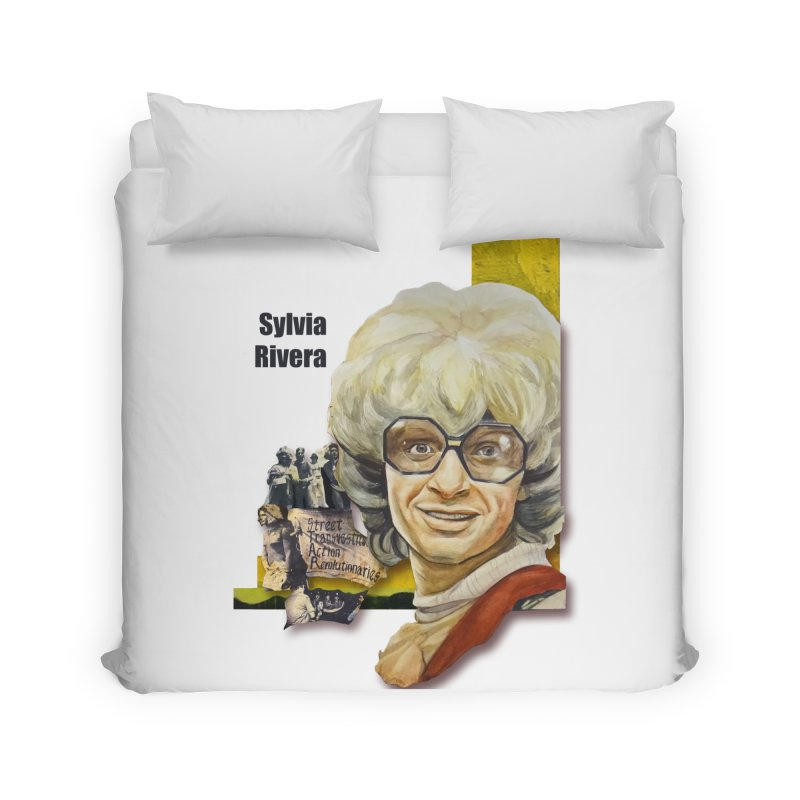 Silvia Rivera Home Duvet by Afro Triangle's