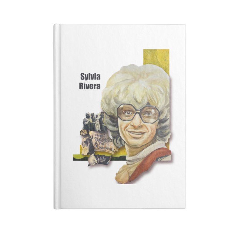 Silvia Rivera Accessories Lined Journal Notebook by Afro Triangle's