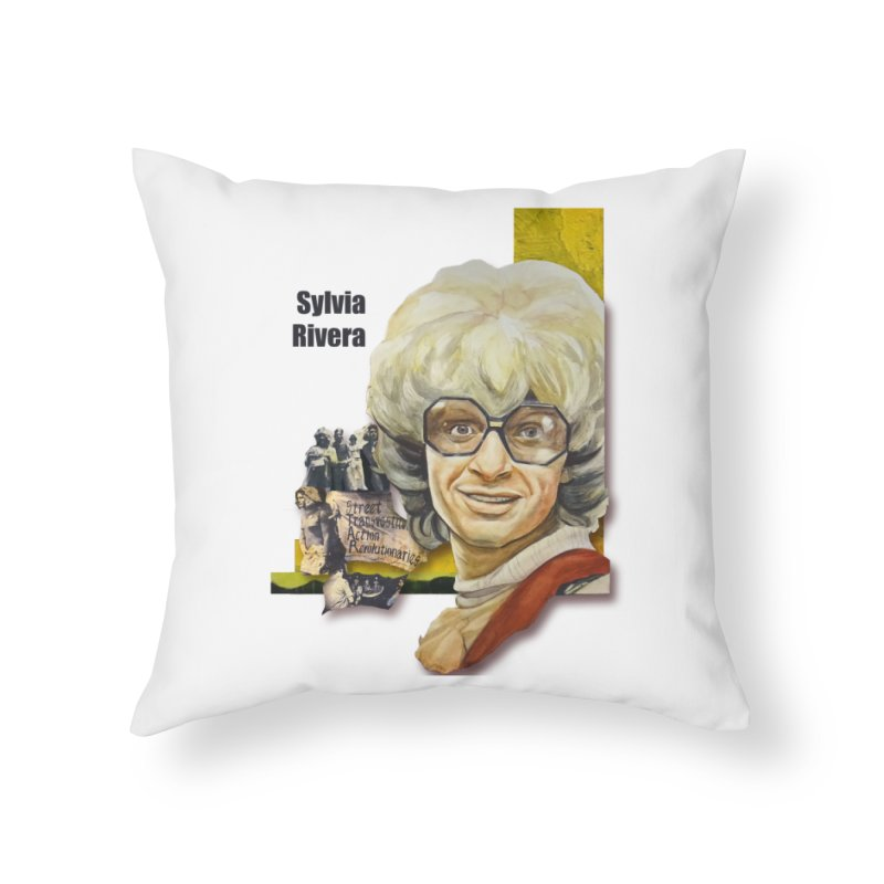 Silvia Rivera Home Throw Pillow by Afro Triangle's