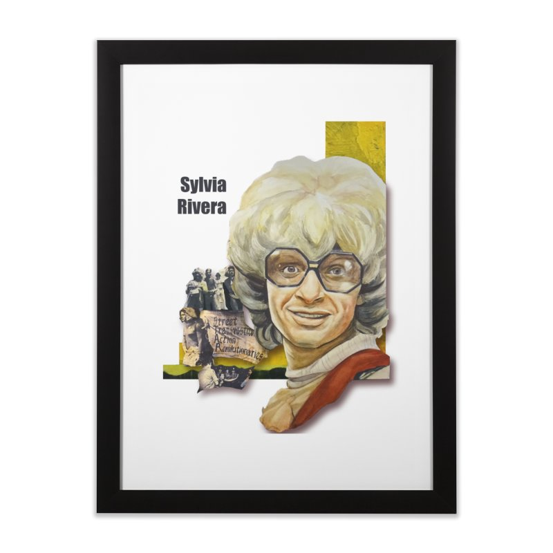 Silvia Rivera Home Framed Fine Art Print by Afro Triangle's