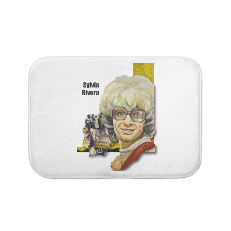 Silvia Rivera Home Bath Mat by Afro Triangle's