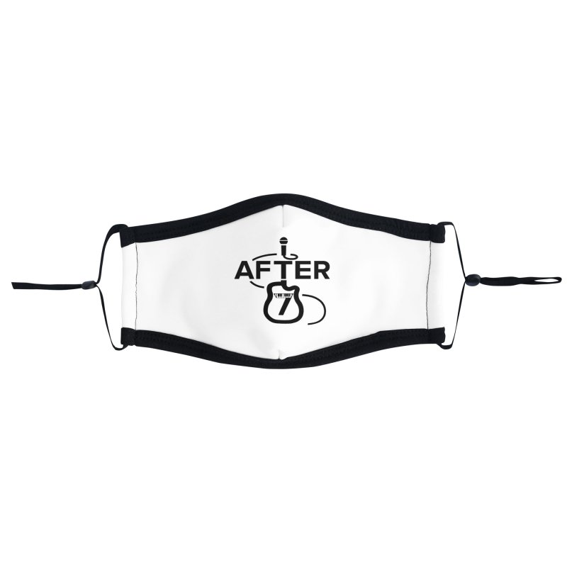 Band Logo-standard Accessories Face Mask by After 7 Tucson Merch Shop