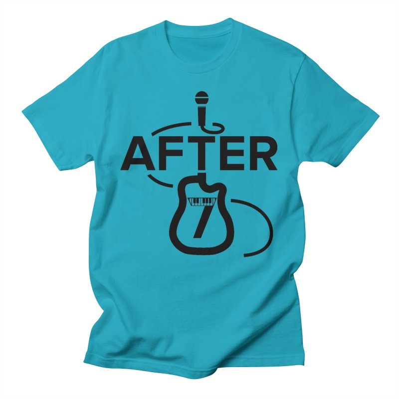 Band Logo-standard Men's T-Shirt by After 7 Tucson Merch Shop