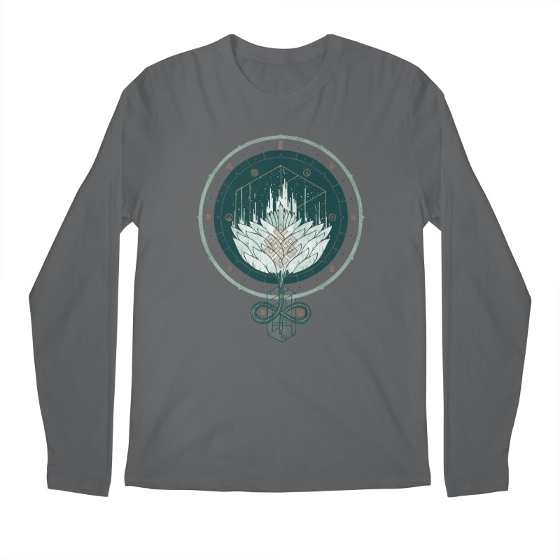 White Dahlia Men's Regular Longsleeve T-Shirt by againstbound's Artist Shop