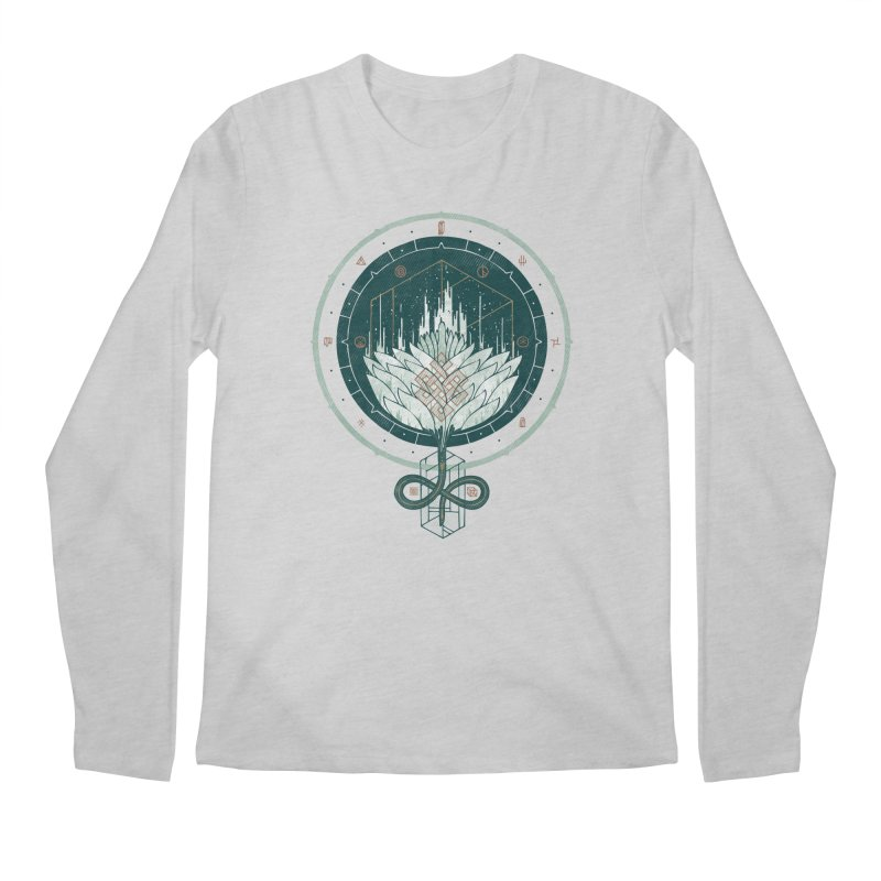 White Dahlia Men's Longsleeve T-Shirt by againstbound's Artist Shop