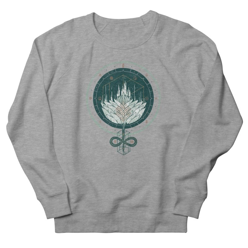 White Dahlia Men's Sweatshirt by againstbound's Artist Shop