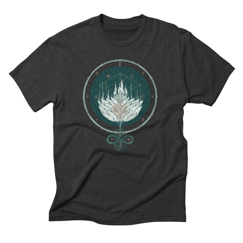 White Dahlia Men's Triblend T-Shirt by againstbound's Artist Shop