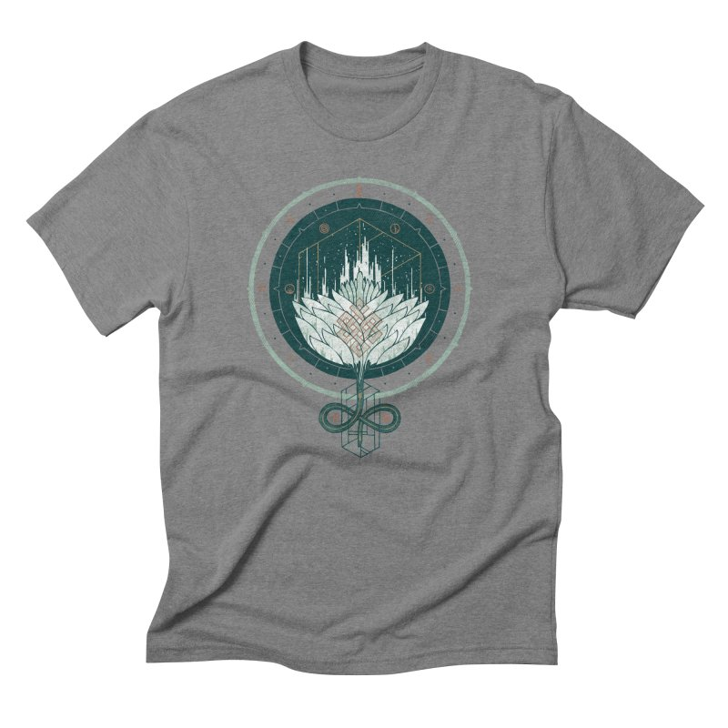 White Dahlia Men's Triblend T-Shirt by againstbound's Artist Shop