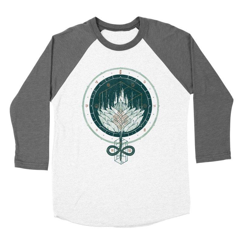 White Dahlia Women's Baseball Triblend T-Shirt by againstbound's Artist Shop
