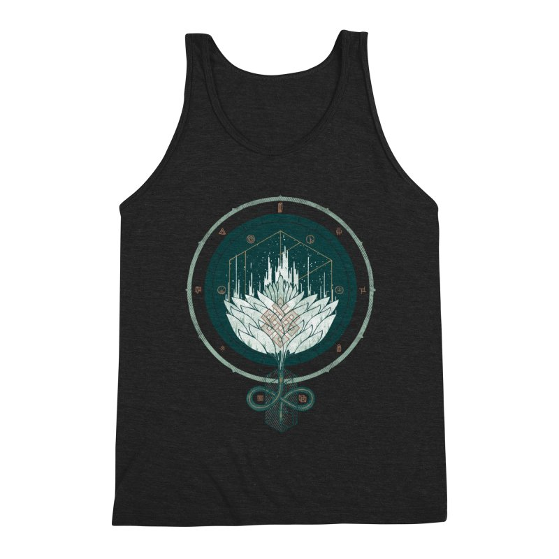 White Dahlia Men's Tank by againstbound's Artist Shop