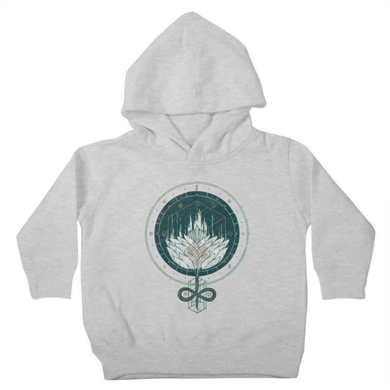 White Dahlia Kids Toddler Pullover Hoody by againstbound's Artist Shop