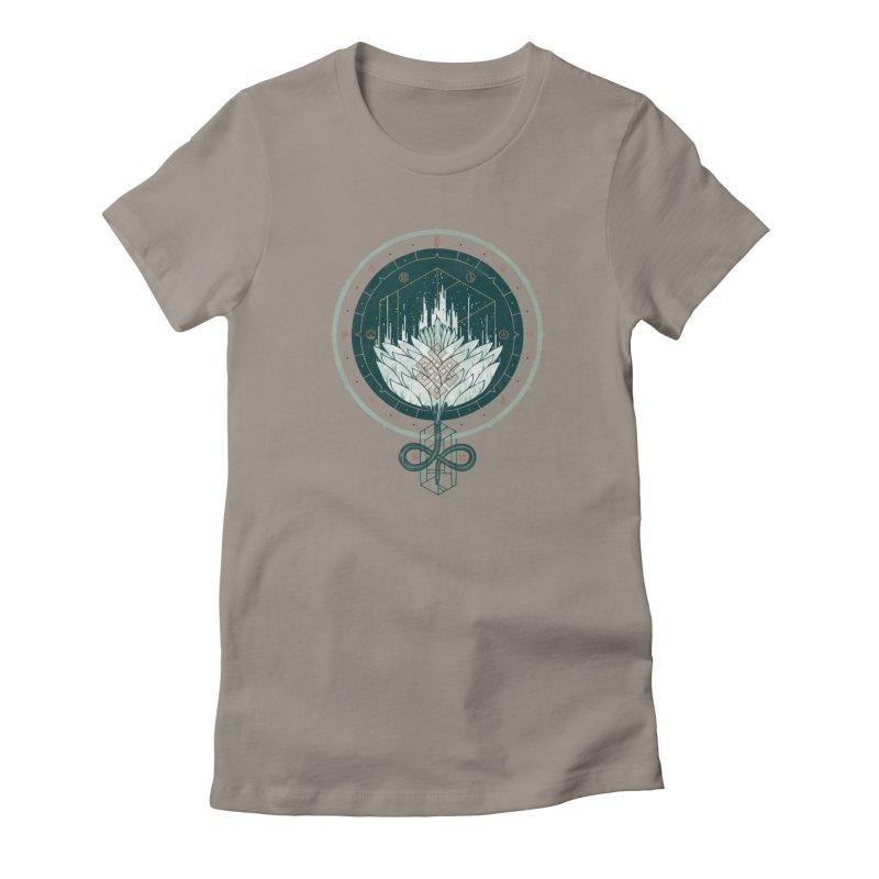 White Dahlia Women's T-Shirt by againstbound's Artist Shop
