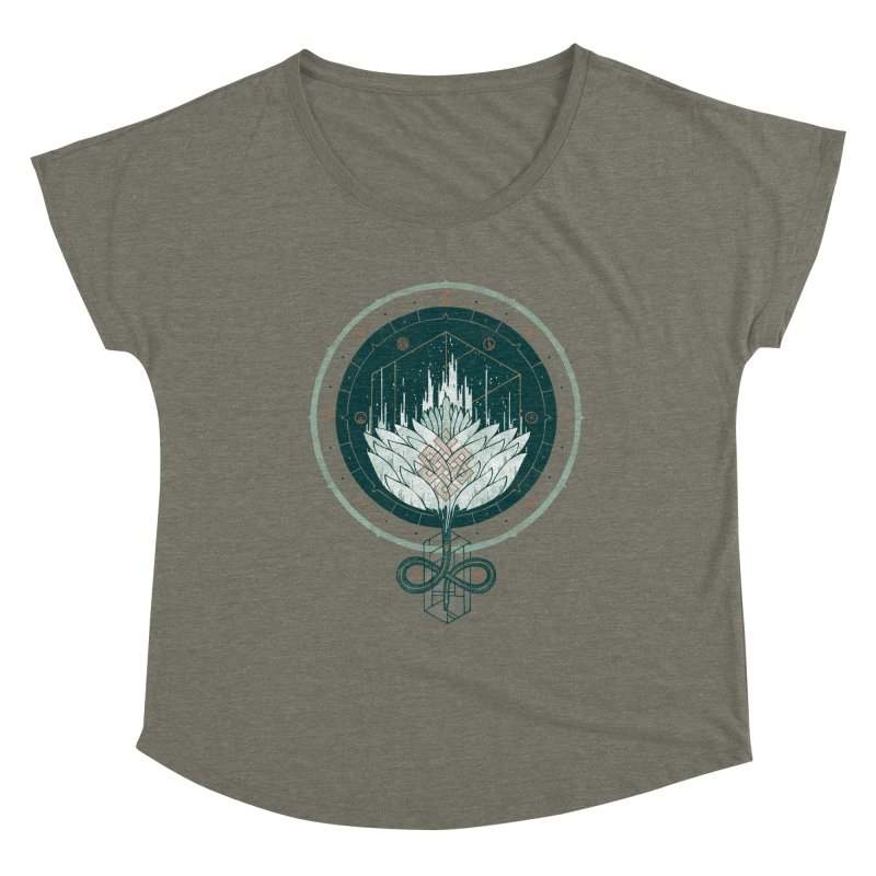 White Dahlia Women's Scoop Neck by againstbound's Artist Shop