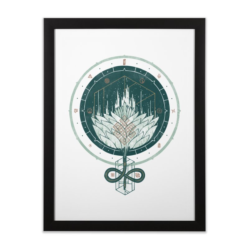 White Dahlia Home Framed Fine Art Print by againstbound's Artist Shop
