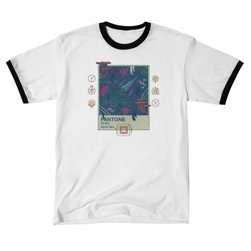 Mystic Blue Women's T-Shirt by againstbound's Artist Shop