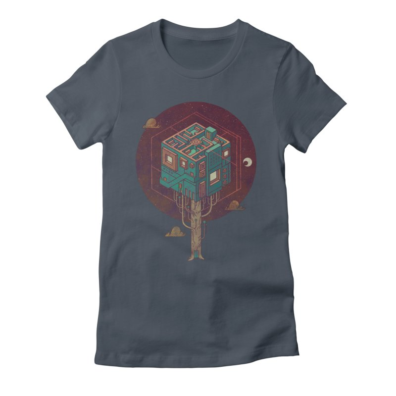 The Future is Green Women's T-Shirt by againstbound's Artist Shop