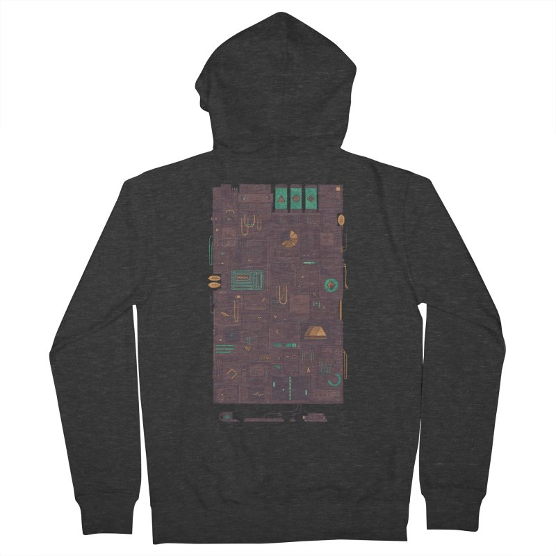 AFK Men's Zip-Up Hoody by againstbound's Artist Shop