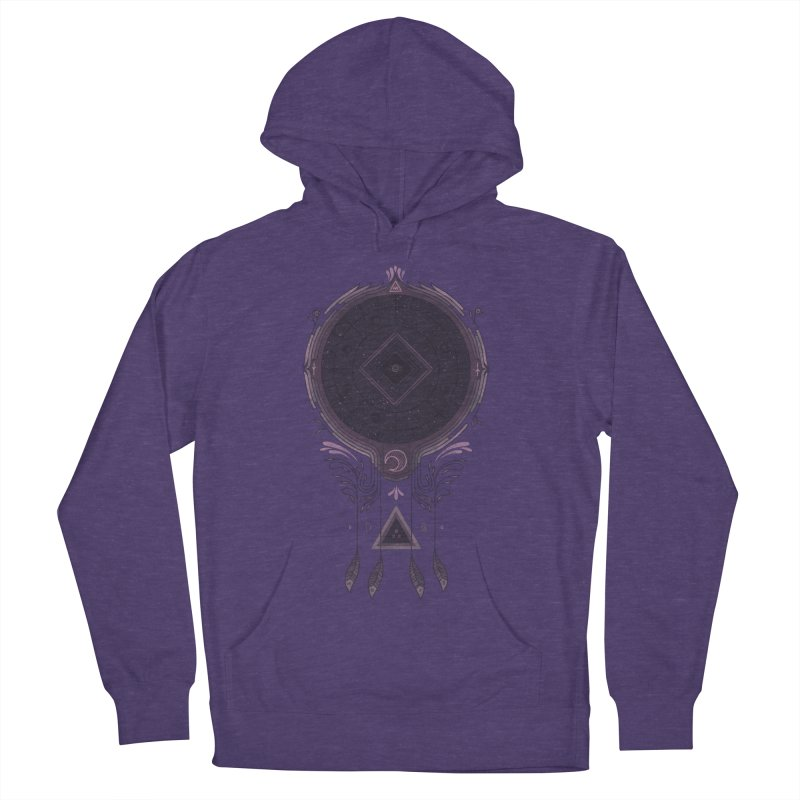 Cosmic Dreaming Men's French Terry Pullover Hoody by againstbound's Artist Shop