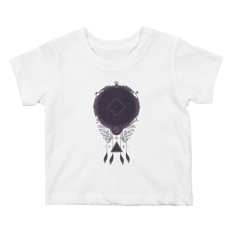 Cosmic Dreaming Kids Baby T-Shirt by againstbound's Artist Shop