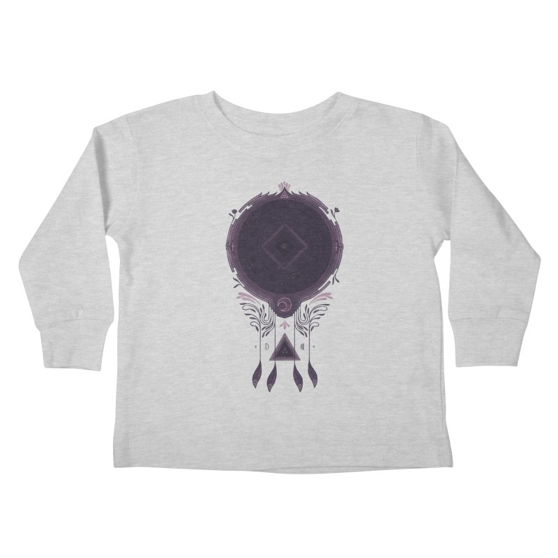Cosmic Dreaming Kids Toddler Longsleeve T-Shirt by againstbound's Artist Shop