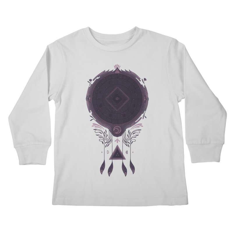 Cosmic Dreaming Kids Longsleeve T-Shirt by againstbound's Artist Shop