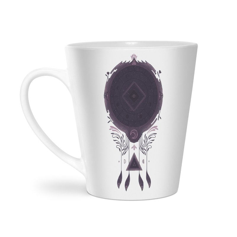 Cosmic Dreaming Accessories Latte Mug by againstbound's Artist Shop