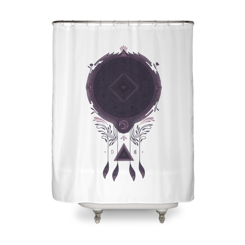 Cosmic Dreaming Home Shower Curtain by againstbound's Artist Shop