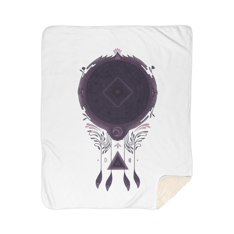 Cosmic Dreaming Home Sherpa Blanket Blanket by againstbound's Artist Shop
