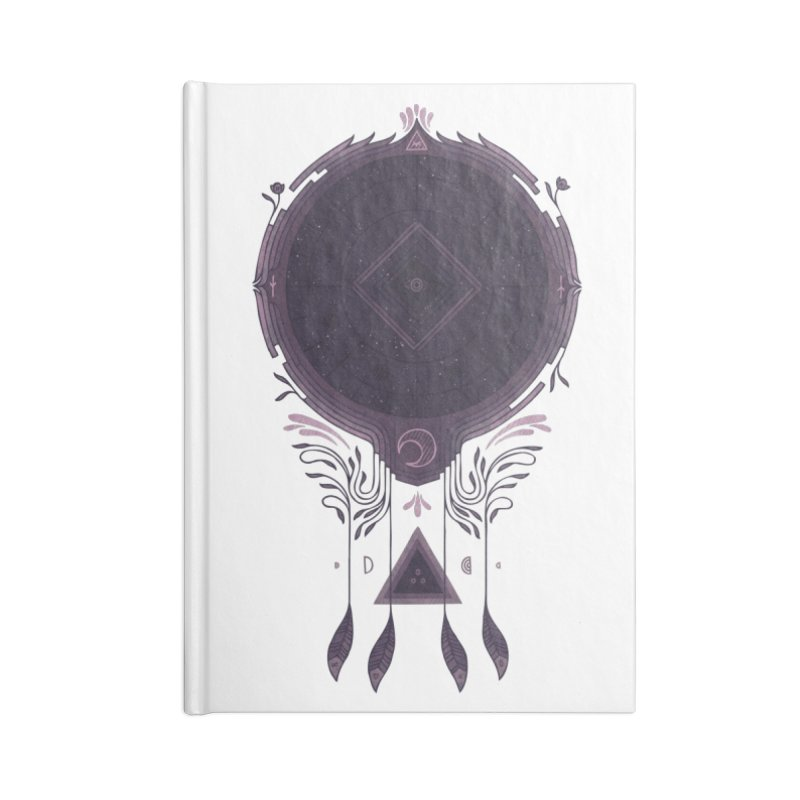 Cosmic Dreaming Accessories Lined Journal Notebook by againstbound's Artist Shop