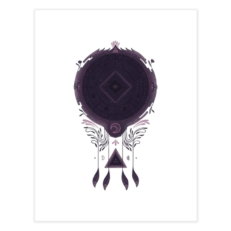 Cosmic Dreaming Home Fine Art Print by againstbound's Artist Shop