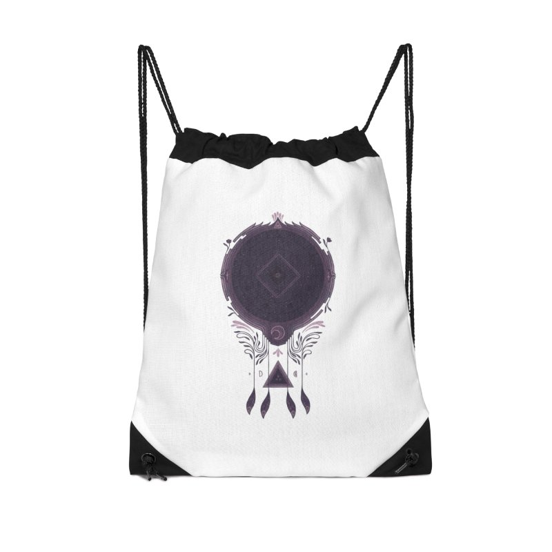 Cosmic Dreaming Accessories Drawstring Bag Bag by againstbound's Artist Shop