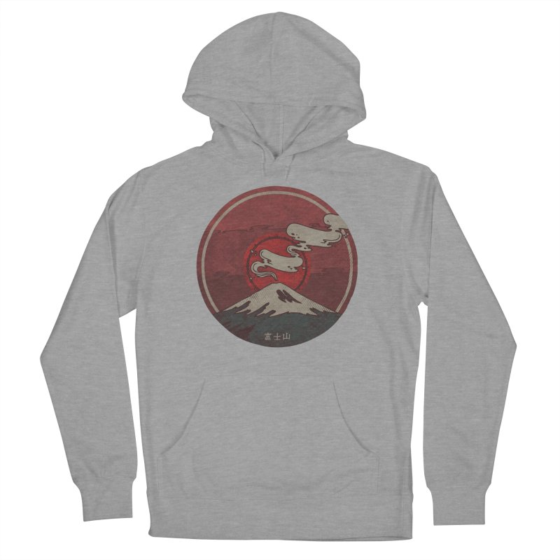 Fuji Women's French Terry Pullover Hoody by againstbound's Artist Shop