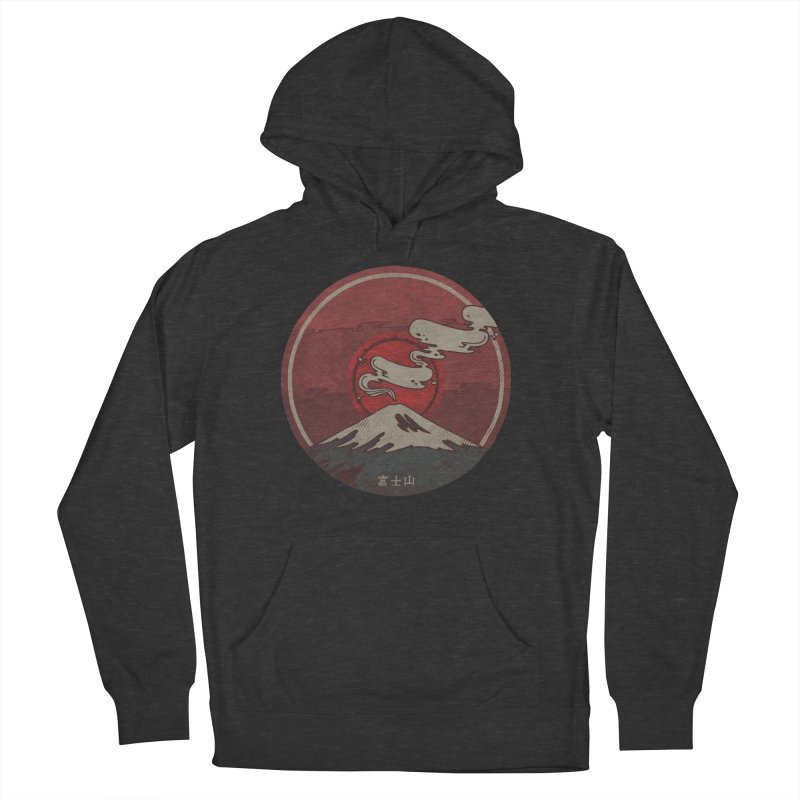 Fuji Men's Pullover Hoody by againstbound's Artist Shop