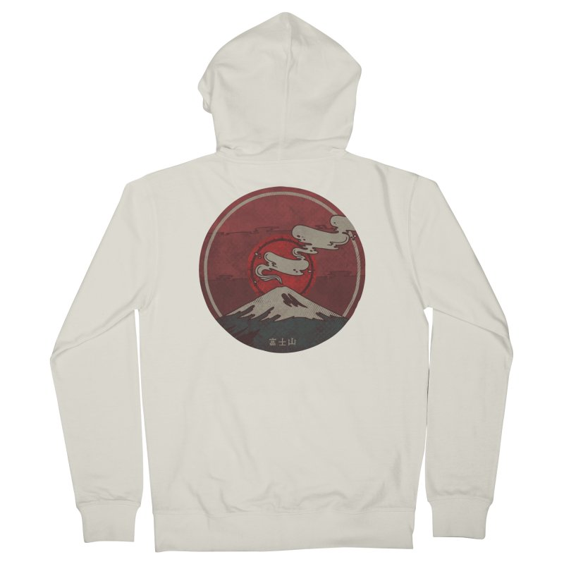 Fuji Women's Zip-Up Hoody by againstbound's Artist Shop