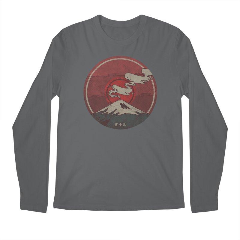 Fuji Men's Regular Longsleeve T-Shirt by againstbound's Artist Shop