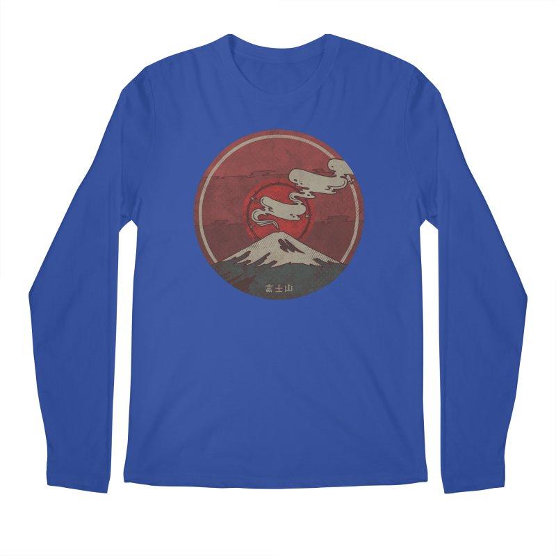 Fuji Men's Longsleeve T-Shirt by againstbound's Artist Shop