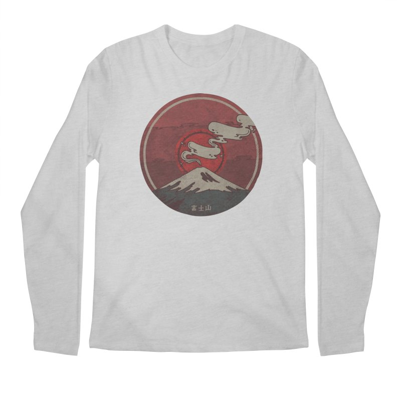 Fuji Men's Regular Longsleeve T-Shirt by againstbound's Artist Shop