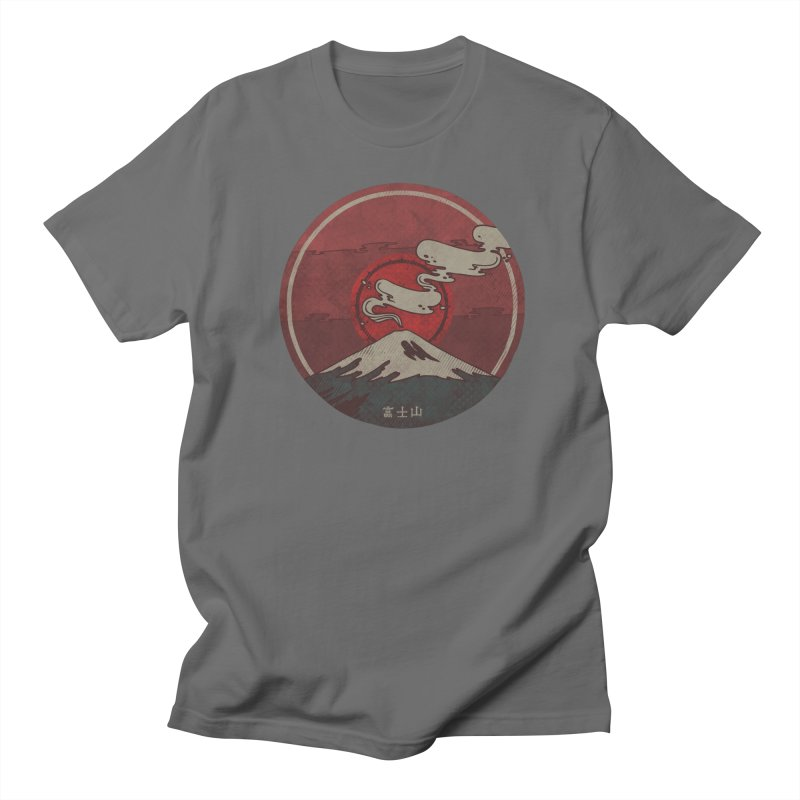 Fuji Men's T-Shirt by againstbound's Artist Shop