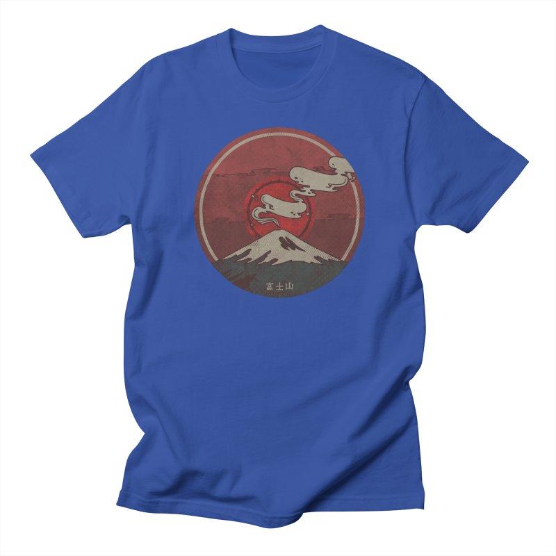 Fuji Men's T-shirt by againstbound's Artist Shop