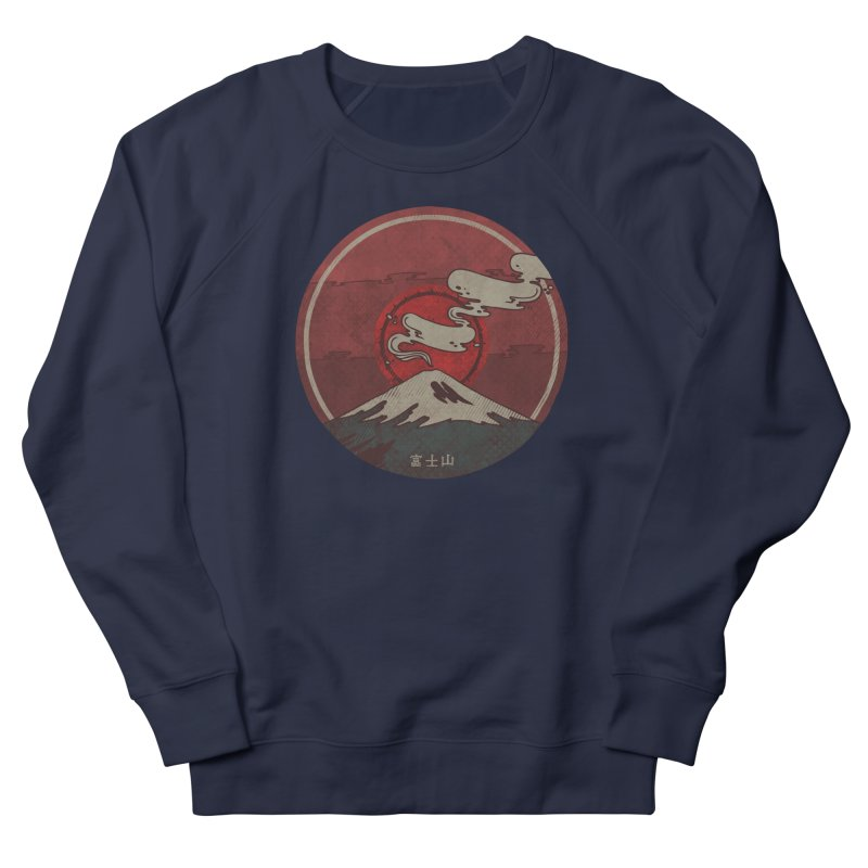 Fuji Women's French Terry Sweatshirt by againstbound's Artist Shop